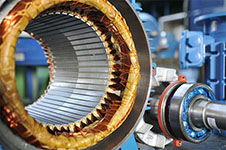 Статор и ротор асинхронного электродвигателя