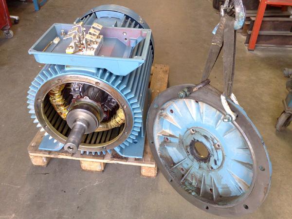 Ремонт асинхронного электродвигателя
