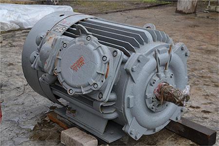 ВАО2 - взрывозащищенный электродвигатель с хранения