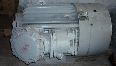 Взрывозащищенный электродвигатель