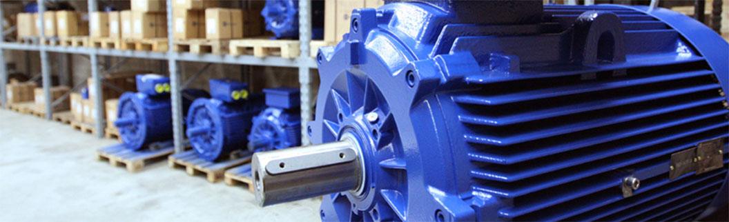 Производство электродвигателей. Завод
