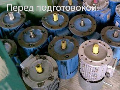 Электродвигатели на складе. Хранение электрических двигателей