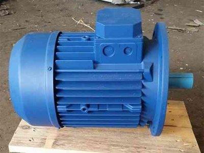 Общепромышленный электродвигатель, фланец