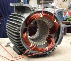 замена обмотки электродвигателя