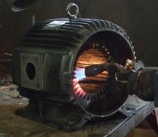 Ремонт трехфазного двигателя