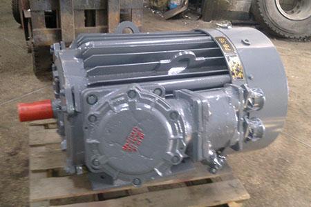 Взрывозащищенный мотор ВАО2 - новый со склада