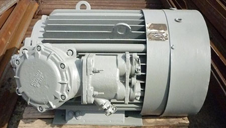 Взрывозащищенный электрический двигатель ВАО2