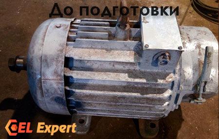 Крановый двигатель с хранения