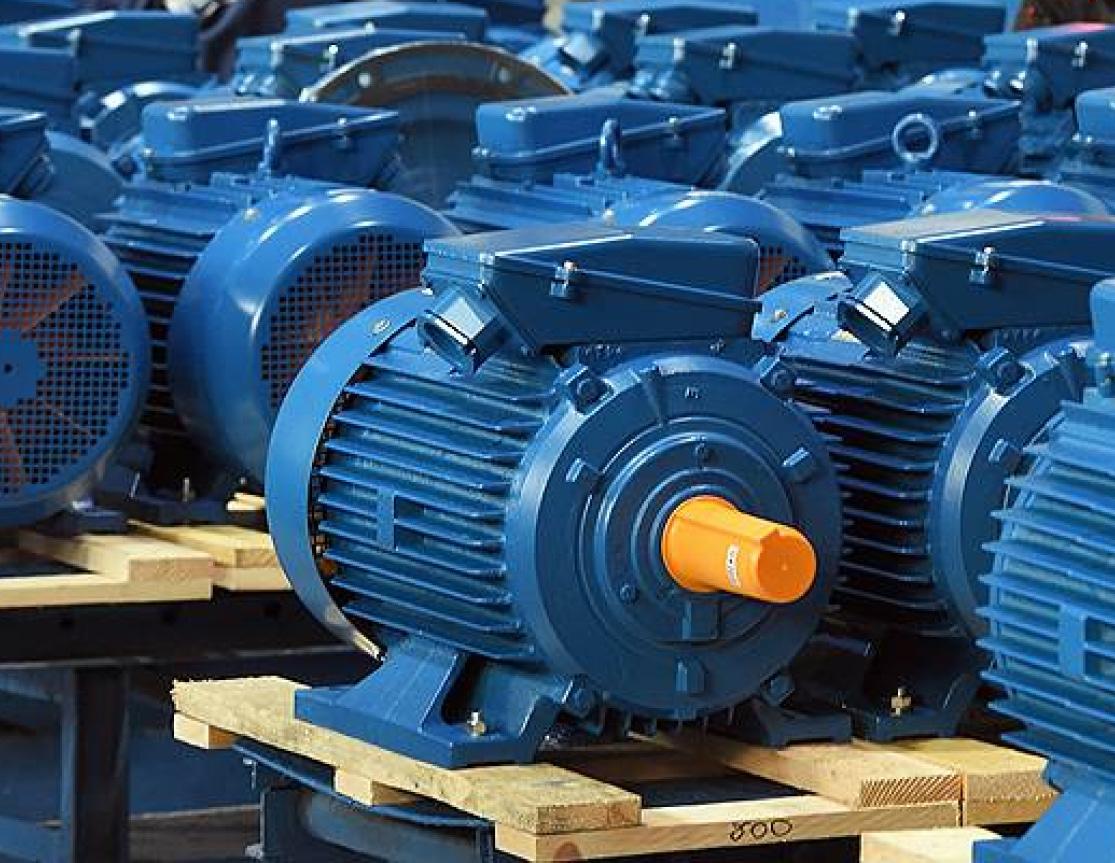 Электродвигатель АИР132 на складе в Харькове